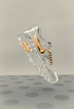 Cinderella's Nikes ~ perfect wedding shoes for the runaway bride :)