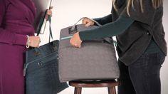 The Vary You Versatile Bag keeps you organized on the go! Visit www.mythirtyone.com/14447