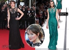 """WHO: Anais Demoustier WHERE & WHEN: """"Two Days, One Night"""" Premiere during the 67th Annual Cannes Film Festival on May 20, 2014. WEARING: Elie Saab - See more at: http://thefashion-court.com/tag/67th-annual-cannes-film-festival/#sthash.mJYAAM9H.dpuf"""