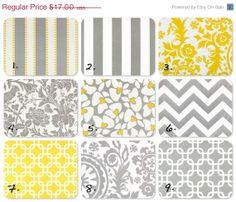 SALE Yellow Pillow Pillows Baby Nursery Pillow by FestiveHomeDecor, $13.60