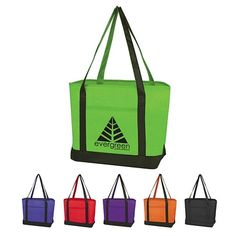 $3.59/Each Promotional Value Boat Tote Bag | Customized Tote Bags | Promotional Tote Bags