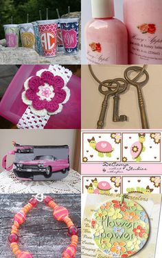 Pretty in Pink for a Heart Attack!! by Liz Middleton on Etsy--Pinned with TreasuryPin.com