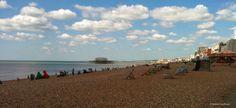 English Seaside Escape to Brighton // Brittany from Boston