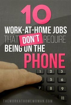 Want to work from home … but not on the phone? Check out this list of awesome … Want to work from home … but not on the phone? Check out this list of awesome work at home jobs! via The Work at Home Woman unique jobs, unique careers, career tips Earn Money From Home, Earn Money Online, Online Jobs, Way To Make Money, Earning Money, Online Careers, Win Money, Money Fast, Online Survey