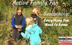 Active Family Fun: Geocaching - Everything You Need to Know - Ironkids Nutrition Kids Moves, Geocaching, Need To Know, Summer Fun, Everything, Activities For Kids, Nutrition, Logo, Couple Photos