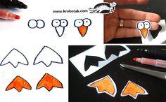 Penguin kids crafts