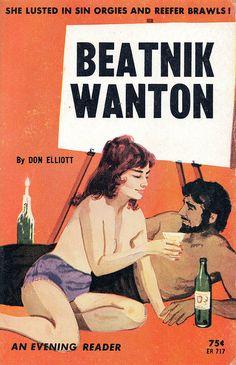 Beatnik book covers