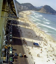 Other Photo of Rio de Janeiro, sidewalks, Copacabana beach 1960 by aroid, via Flickr
