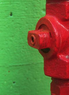 green and red by Darwin Bell, via Flickr
