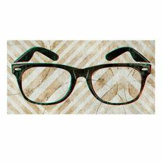 """Jims Glasses Artwork 36""""Wx18""""H $159"""