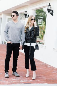 Sharing His and Hers style with Aquatalia featuring Spring shoe style essentials.