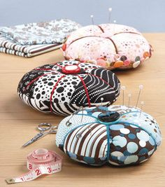 pin cushion...maybe once I figure out how to use my sewing machine I could make one of these for a future creation!