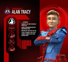 Alan Tracy Profile Image - Character