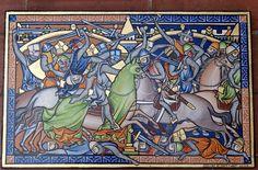 """ARTE ROMÁNICO L'art de Sant Marti: """"The Morgan Crusader's Bible"""" – Bíblia dels Creuats"""" (c.1250) """"The Morgan Crusader's Bible – Biblia dels Creuats"""""""