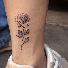 33 Best Small Black Rose Tattoos For Men Images Black Rose Tattoos