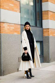 Ada Kokosar NYFW street style