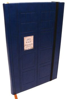 This is actually a blank journal, but I'd LOVE LOVE LOVE to have a cover for my Nook like this. My Nook is named The TARDIS already because it's bigger on the inside and takes me to wonderful places.