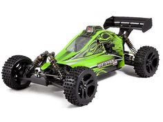 Why go normal when you can go X-treme with Redcat Racing's Rampage XB 1/5 scale X-treme Buggy!   This large scale, gas powered, 4WD buggy has the size, power, and handling for extreme fun. Tuned exhaust pipe and high flow intake allow the powerful 30cc 2-stroke gasoline engine to breath efficiently for maximum horsepower.