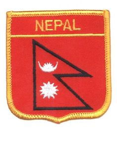 Nepal Patch Collectible Iron-On High Quality Stitching