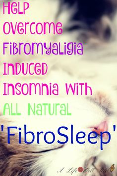 *SPONSORED* This is something I struggle with every night since developing Fibromyalgia and Chronic Fatigue Syndrome/ME. Getting to sleep and staying there for any length of time is a challenge , leaving me exhausted and walking in a Fibro-fog all day. The fact that this is an ALL NATURAL soulution is great! Being chronically ill it seems like all the medication to take for my symptoms are CHEMICAL BASED, so to come across one with HEALTH PROMOTING ingredients is a find! ♥♥♥*Pin now read…