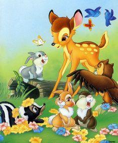 DIY Diamond Painting cross Stitch Bambi full Square Rhinestone diamond embroidery Mosaic Needlework Home Decor Disney Cartoon Characters, Cartoon Pics, Cute Cartoon Wallpapers, Images Disney, Disney Pictures, Disney Artwork, Disney Drawings, Bambi And Thumper, Bambi 3
