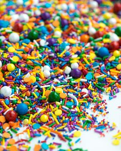 UP AND AWAY Sprinkle Medley (GF) | Sprinkles + Stuff rainbow