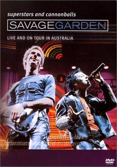Savage Garden - Superstars And Cannonballs: Live And On Tour In Australia Factory sealed DVD Australia Movie, Logan City, Savage Garden, Number One Hits, Superstar, Documentaries, Behind The Scenes, Tours, Taylors