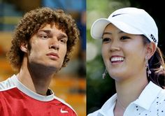 Robin Lopez and pro golfer Michelle Wie used to date when they were students at Stanford…around the same time that Wie made $20 million in salary and endorsements.