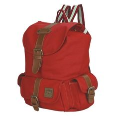 Catenzo Tas Backpack Wanita Marya Red C423 - Red