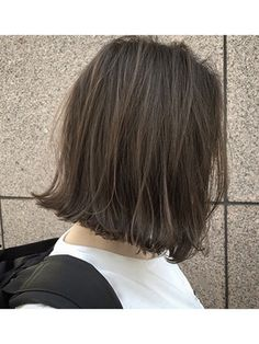 Blunt bob haircut with flipping style