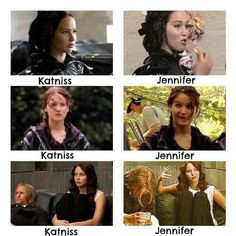 Image via We Heart It https://weheartit.com/entry/162640590/via/9561057 #behindthescenes #JenniferLawrence #katnisseverdeen #thg