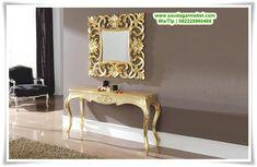 Meja Dinding Klasik Eropa, Meja Rias Kamar, Cermin dan Miror, Meja Cermin Terbaru, Meja Dinding Antik, Meja Dinding Antik, Cermin Hias Antik