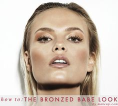 how to: the bronzed babe look / daytime & night time looks in just a few easy steps!