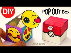 How to Make a Pop Out Surprise Box Toy | Jack in the Box - YouTube