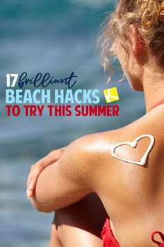 - Vacation Ideas - 17 Brilliant Beach Hacks You Must Try This Summer Heading to the beach this summer? Make sure you know these tricks before your family vacation — they'll make your life so much easier! Beach Vacation Checklist, Packing List Beach, Jamaica Vacation, Vacation Ideas, Vacation Resorts, Tips And Tricks, Makeup Tricks, Beach Fun, Beach Trip