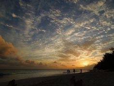 Simply sky! #Barbados  #beach #beautifulphoto #caribbeandreamsmagazine.com #sunset