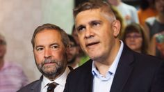 'It hurts': NDP shut out of downtown Toronto in Liberal crush - Andrew Thomson, NDP candidate in the Toronto riding of Eglinton-Lawrence, came in third place against Conservative incumbent Joe Oliver and Liberal winner Marco Mendicino. Downtown Toronto, It Hurts, Crushes, Canada, Third, Federal