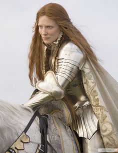 Cate Blanchette as Elizabeth I