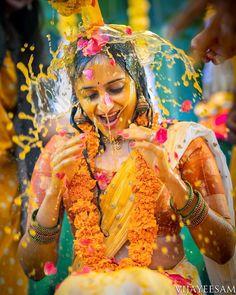 91 Best Brides In Haldi Looks Images Haldi Ceremony Bride