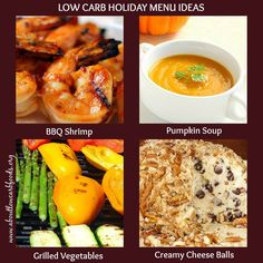 How to plan a low carb holiday dinner that goes easy on the carbs, tastes incredible, and still offers the traditional holiday favorites. Low Carb Diet Menu, Low Carb Dinner Recipes, Entree Recipes, Breakfast Recipes, Healthy Food Choices, Good Healthy Recipes, Healthy Meals, Healthy Eating, Tomate Mozzarella