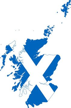 'Flag Map of Scotland ' Sticker by Scotland Food, Scotland Funny, Scotland Map, Scotland Road Trip, Skye Scotland, Scotland Travel, Scotland Castles, Inverness Scotland, Edinburgh Scotland