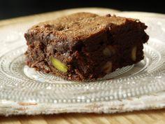 Brownie noix, noisettes & pistaches selon l'école Lenôtre