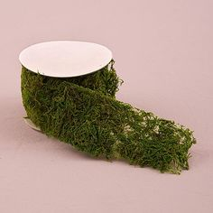 Planning a rustic or woodland themed wedding? Bringing the outdoors inside when having a woodland themed wedding has never been easier with the addition of faux moss. These rolls of faux moss ribbon w