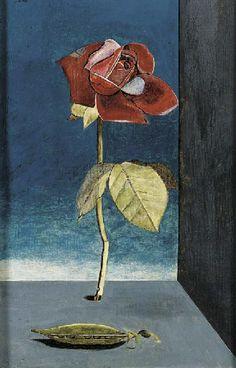 Rose and Sweet Pea - Lucian Freud, oil on canvas Sigmund Freud, Robert Rauschenberg, Edward Hopper, David Hockney, Jean Fouquet, Berlin, Vida Real, Artists And Models, Statues