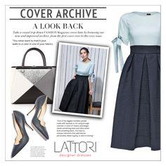 """LATTORI dress"" by water-polo ❤ liked on Polyvore featuring Lattori, Fendi, Paul Andrew, polyvoreeditorial and lattori"