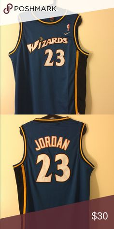 watch f5708 b2401 NWT Michael Jordan  23 Wizards Swingman Jersey m