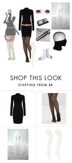 """""""Naruto"""" by whiterabbitmadness ❤ liked on Polyvore featuring Phase Eight, Leg Avenue, Charlotte Russe and rag & bone"""