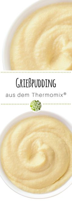6x Thermomix®️ Pudding - hol Dir das Grundrezept für Grießpudding aus TM5®️ oder TM31 - die Kids werden Dich dafür lieben! #thermomix #thermomixrezepte #willmixen