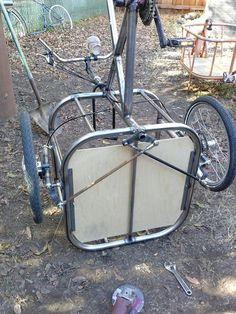 cargo bike, cycle trucks home