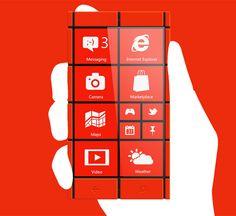Windows phone concept smartphone